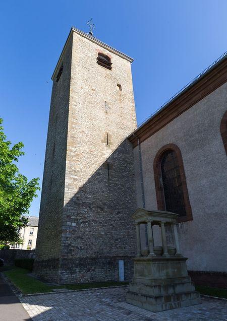 The 12th century parish church tower Photo: Shutterstock