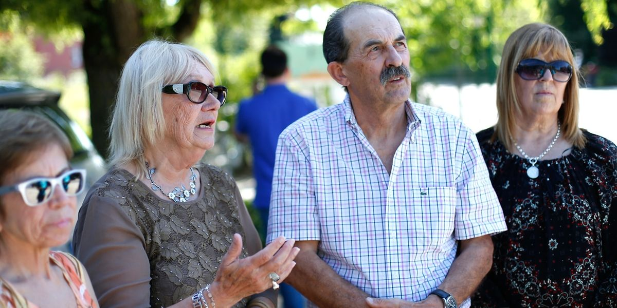 Mit seiner Frau Graciella (1.v.l.), seiner Schwester und seiner Cousine möchte Hector Luis Fischbach eine dauerhafte Verbindung zwischen Argentinien und Luxemburg aufbauen.