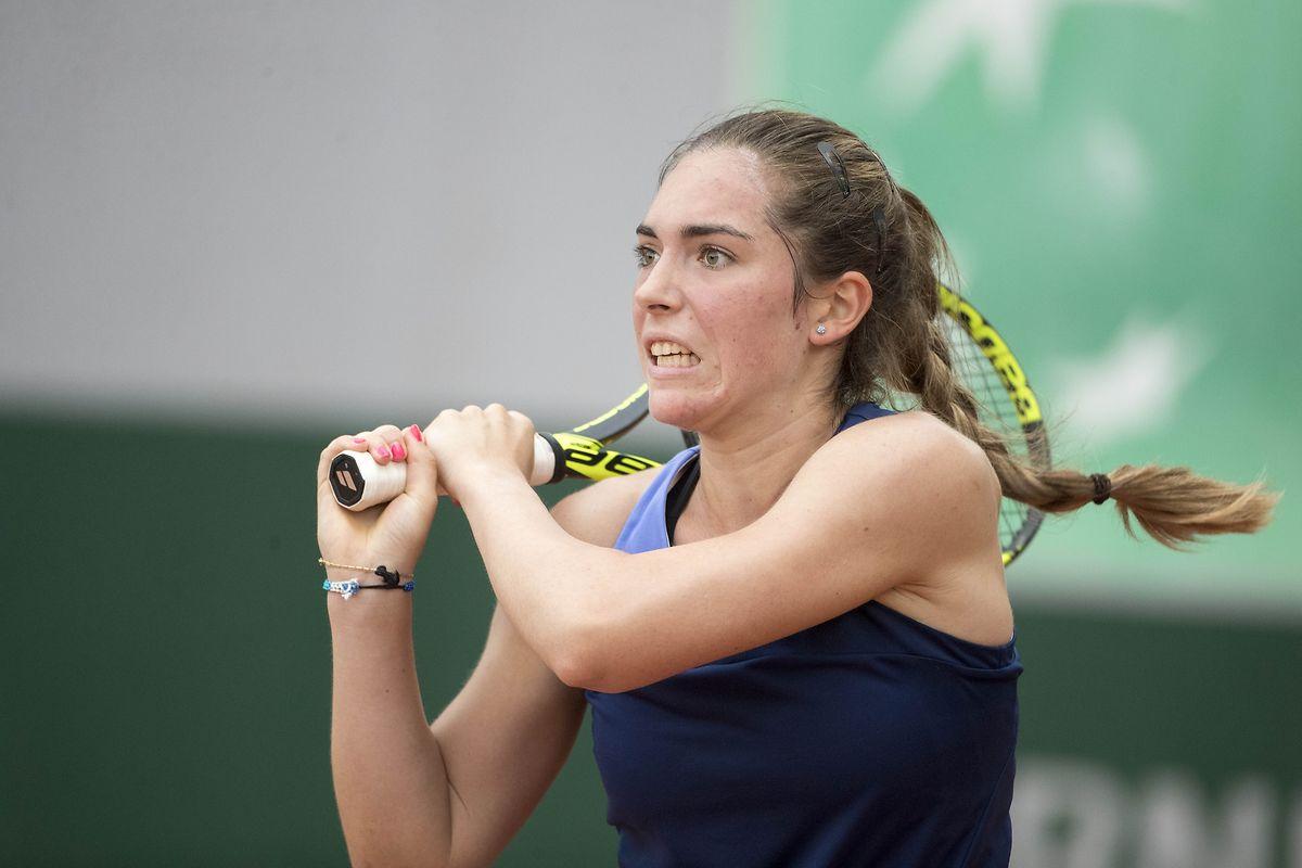 Eliminée en quart de finale en simple, Eléonora Molinaro s'est fait sortir en demi-finale du double, ce vendredi dans les rangs juniors à Roland Garros