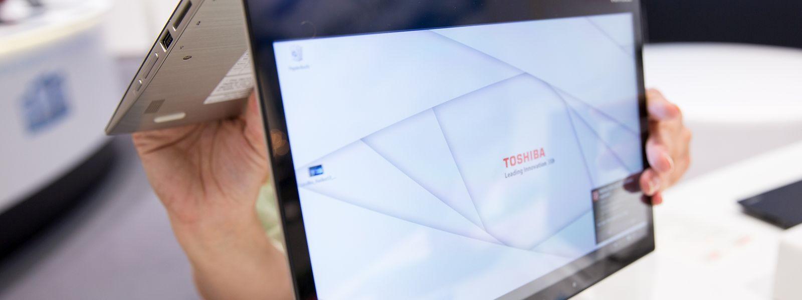 Bei Convertibles lässt sich der Bildschirm umklappen. So sind mehrere Nutzungsmodi möglich - bis hin zur Tabletnutzung.