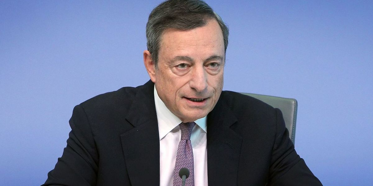 Mario Draghi, Presidente do Banco Central Europeu (BCE)