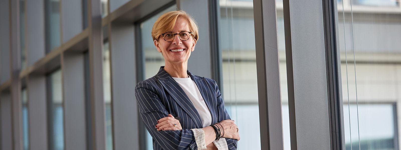 Christianne Wickler steht seit kurzem als erste Frau überhaupt an der Spitze der Cargolux.