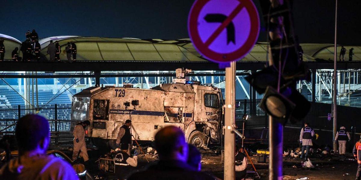«Il apparaît que ces explosions (...) avaient pour but de causer le plus grand nombre possible de victimes», a souligné M. Erdogan.