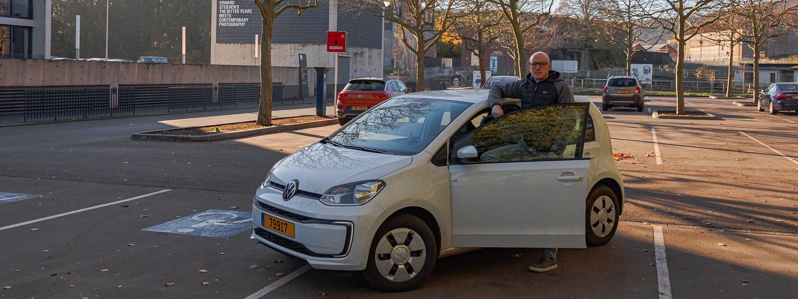 Nach einem Renault Zoe ist der VW e-Up bereits das zweite reine Elektroauto für LW-Redakteur Yves Bodry.