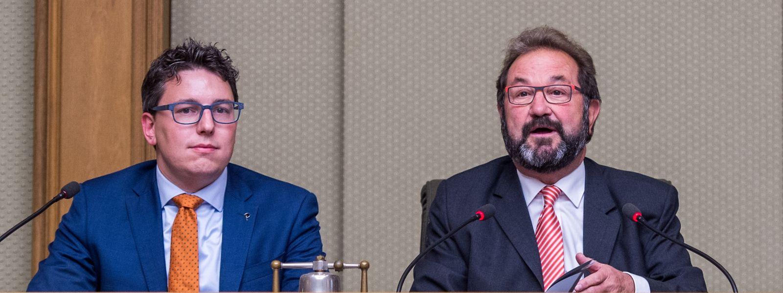 Sven Clément (Pirates) et Gast Gybérien (ADR)