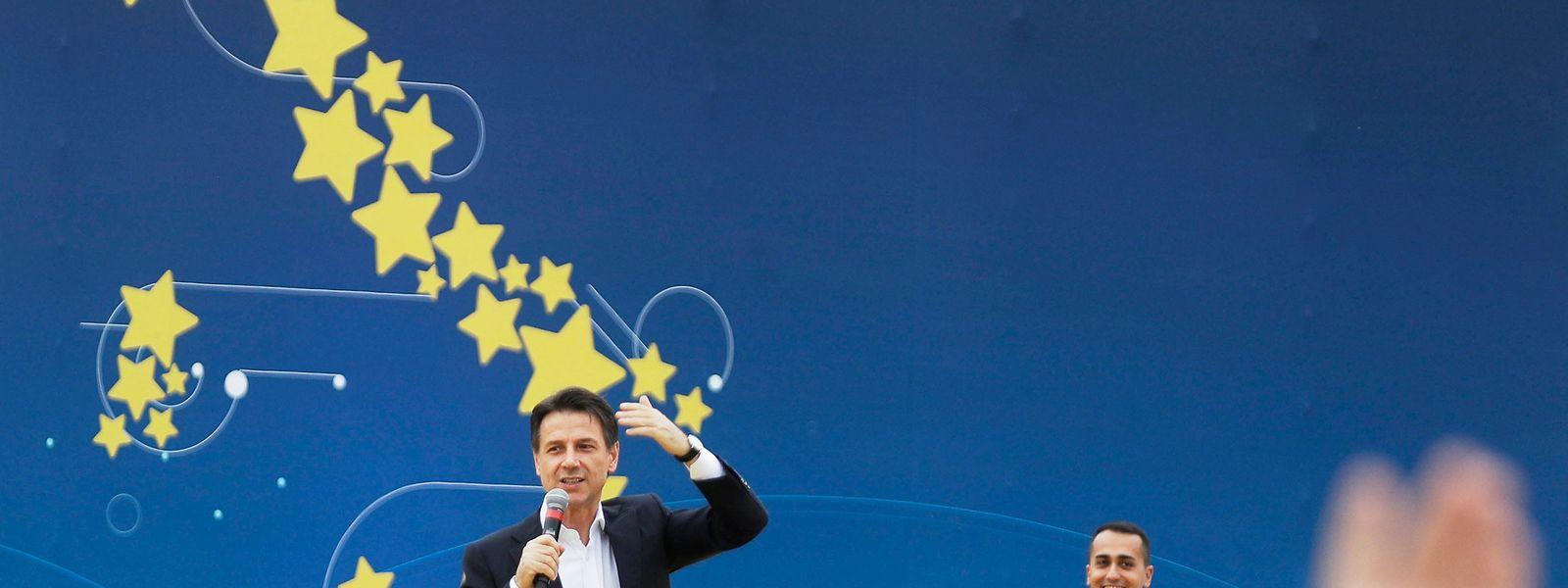 Trotz schlechter Wirtschaftszahlen verbreitet der italienische Ministerpräsident Giuseppe Conte Zuversicht für die Nummer drei des Eurolandes.Italien ist in die Rezession abgerutscht.