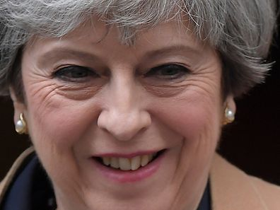 Le Premier ministre britannique Theresa May.