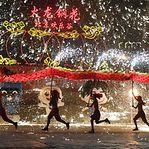 Festas de luz e cor no Ano Novo chinês