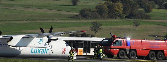 Laut Zwischenbericht ist der Unfall der Luxair-Maschine in Saarbrücken auf menschliches Versagen zurückzuführen.