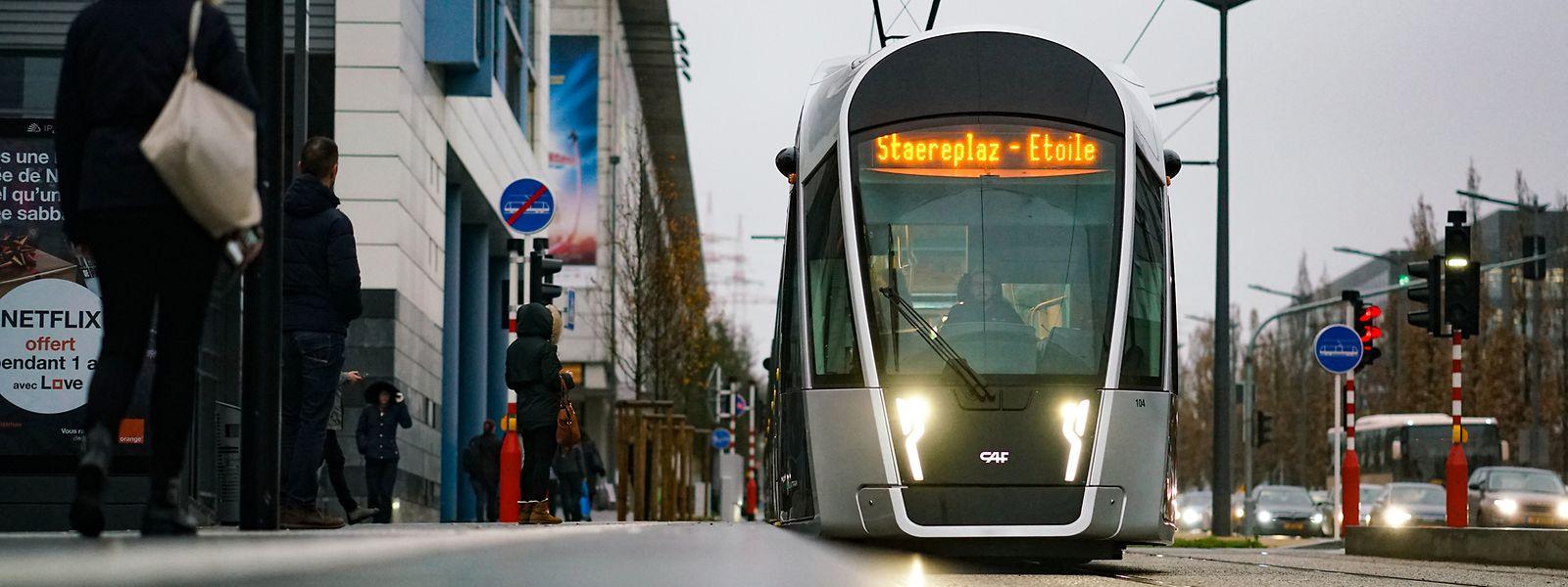 D'ici à l'horizon 2035, le tram devrait desservir non seulement la capitale, mais aussi le sud du pays via une circulation rapide le long de l'A4.