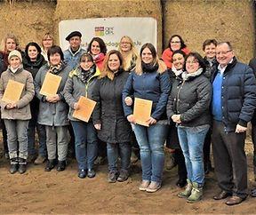Weiterbildung Bauernhofpädagogik 2017 - Überreichung der Zertifikate