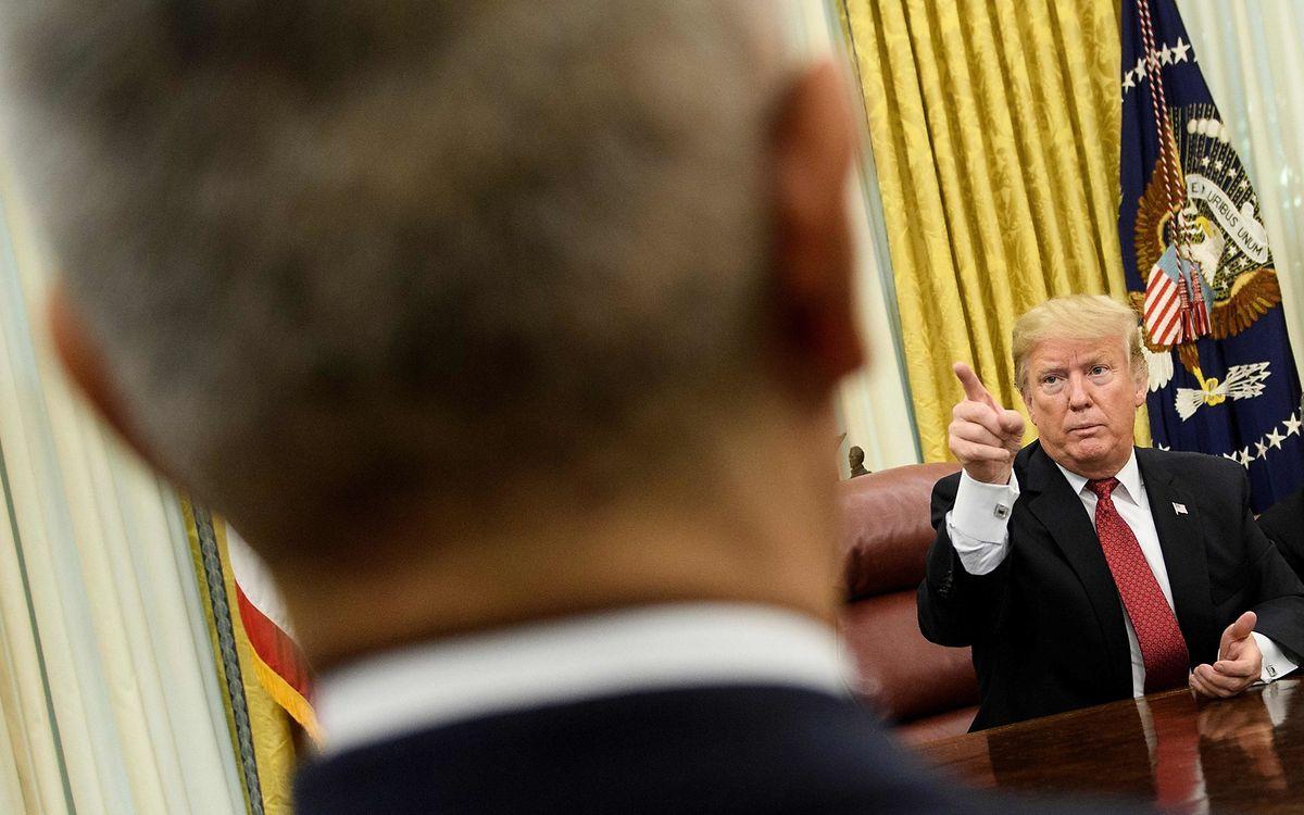 Trump gibt China die Schuld an der Eskalation.