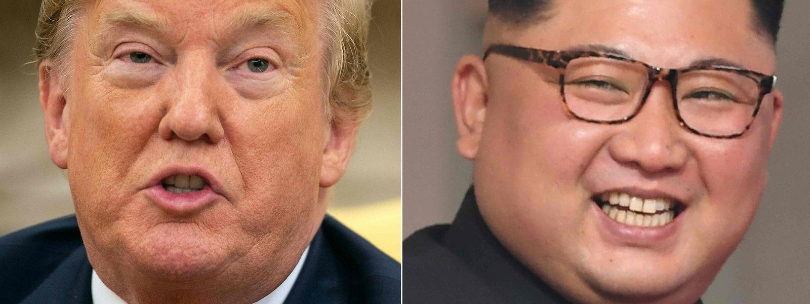 Zu Beginn der Amtszeit von Donald Trump stimmte die Chemie zwischen ihm und Kim Jong Un eher nicht.