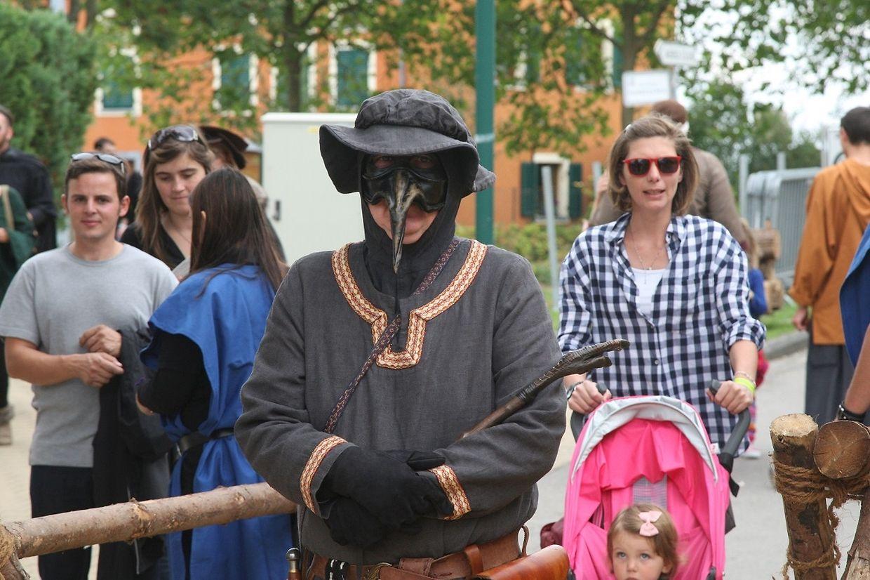 Eindrücke vom Mittelalterfest in Düdelingen.