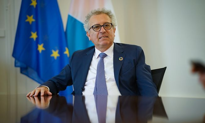 Finance Minister Pierre Gramegna