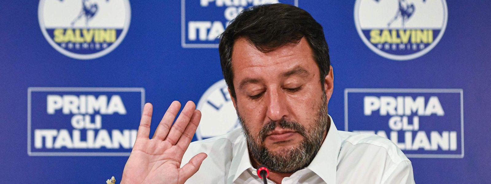 Oppositionsführer Matteo Salvini muss sich nach den Regionalwahlen unangenehme Fragen stellen lassen.