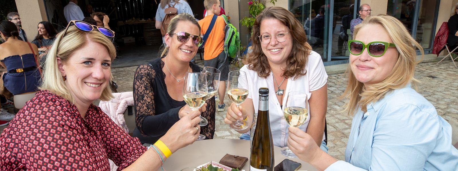In Wormeldingen steht am Wochenende alles im Zeichen der Weinverkostung.