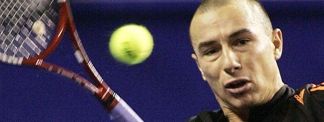 Jean-René Lisnard, du temps - pas si reculé - où il arpentait le circuit ATP comme joueur.