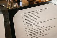 Seit Inkrafttreten der Lebensmittelinformationsverordnung der EU müssen Gastronomen nun seit vier Jahren ihre Gäste über die bei der Zubereitung verwendeten Zutaten informieren.