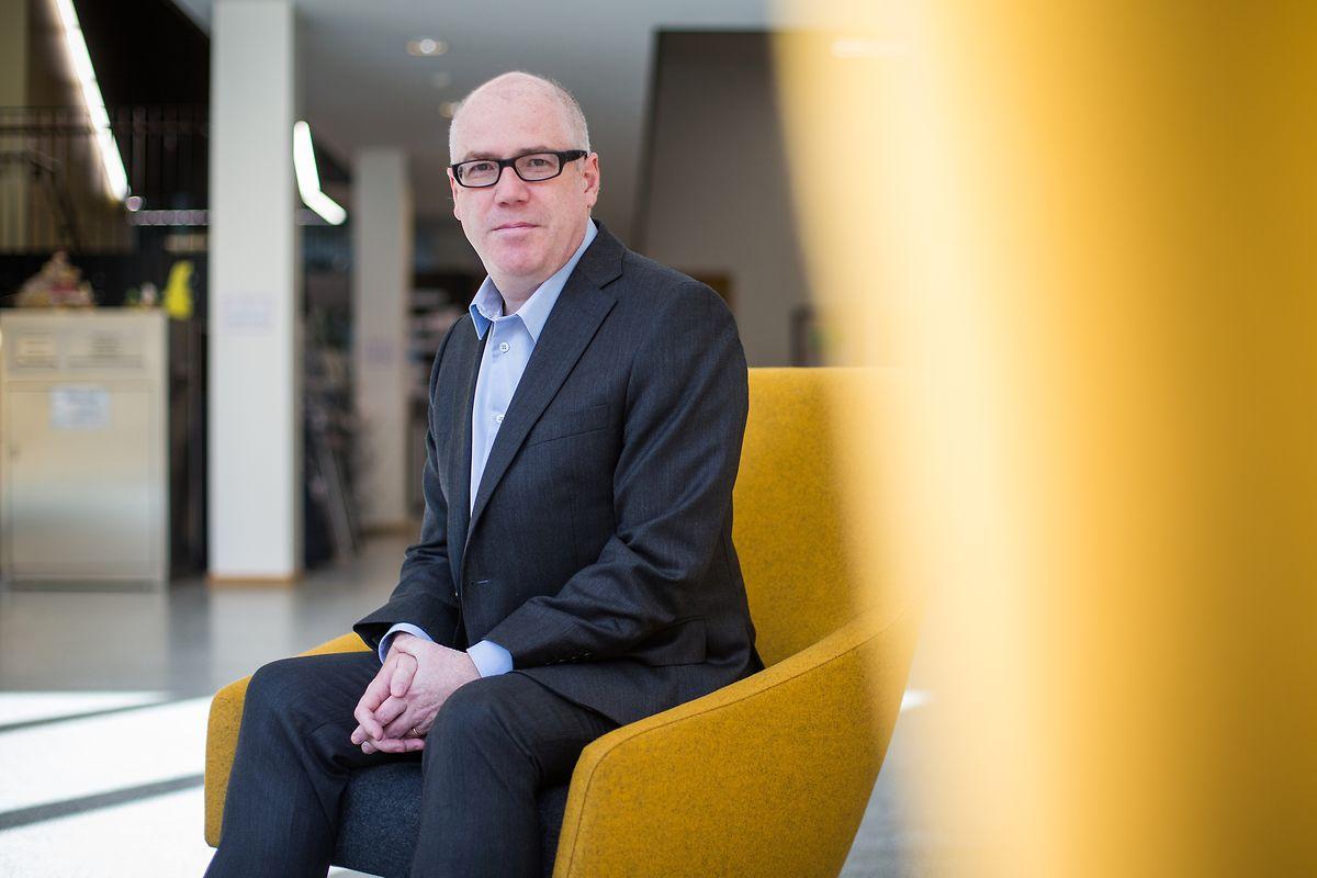 Luxemburgistik-Professor Peter Gilles erforscht die Landessprache mithilfe digitaler Medien.