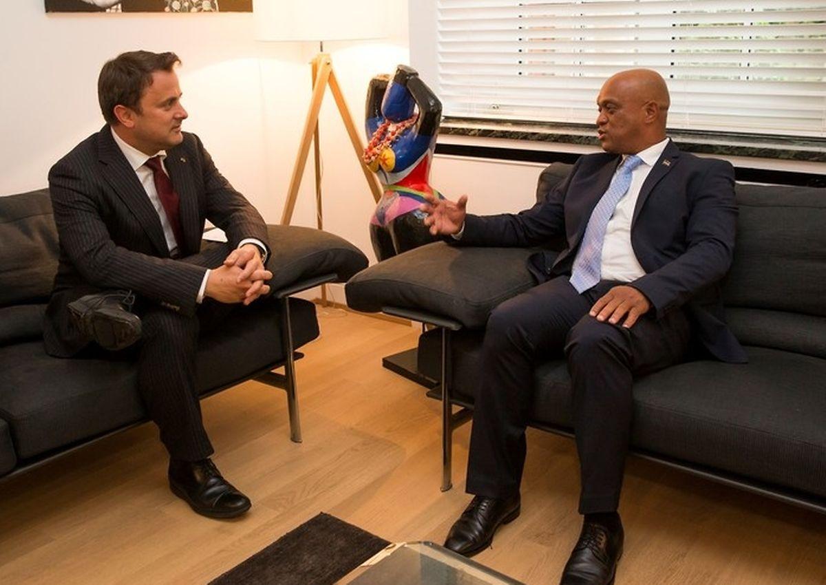 Bettel recebeu o novo ministro dos Negócios Estangeiros de Cabo Verde