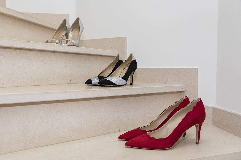 """Die Unternehmerin nutzt für ihre Schuhe sogenanntes """"Eco Alter Nappa"""", eine Lederalternative aus Zellulose."""