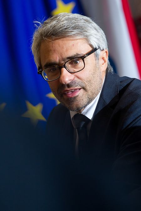 Pascal Saint-Amans, directeur du Centre de politique et d'administration fiscales de l'OCDE