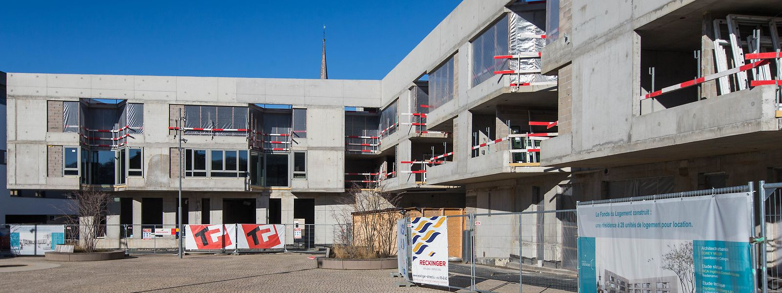 """Das Mietwohnprojekt """"Miwwelchen"""" des Fonds du logement in Differdingen."""