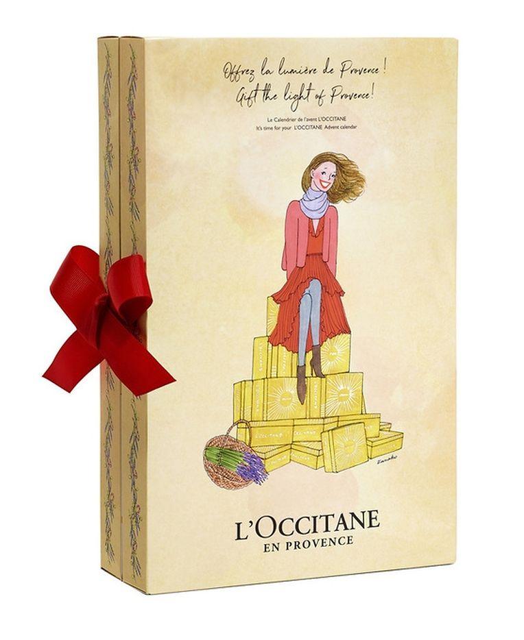 Duschgel, Handcreme, Bodymilk und vieles mehr, was Haut und Seele begehren: Adventskalender mit 24 Miniaturen von L'Occitane, 49 Euro.