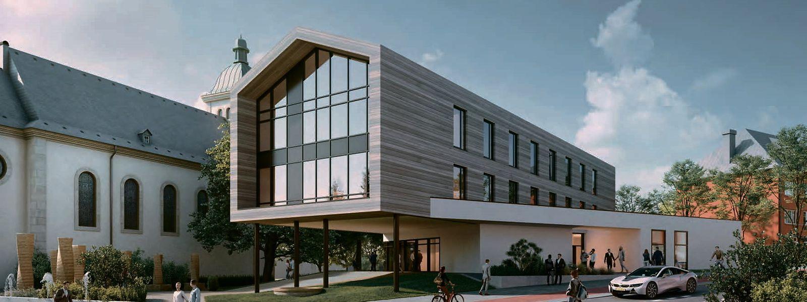 Geht es nach den Plänen des Schöffenrats, soll die Sandweiler Gemeindeverwaltung ein neues Zuhause bekommen.