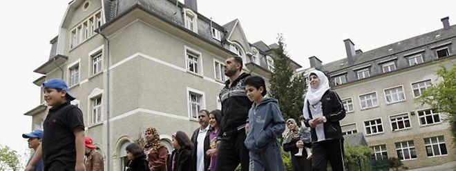 Die Flüchtlinge sind in Luxemburg ungleich über das Land verteilt. So besteht beispielsweise in Weilerbach ein großes Aufnahmezentrum für rund 250 Personen.