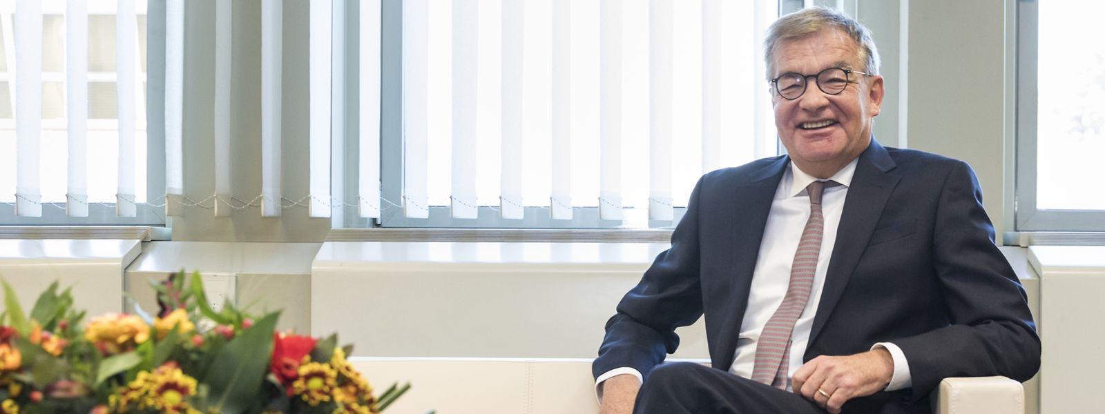 A 60 ans, Laurent Mosar entend ramener le CSV au pouvoir en octobre prochain.