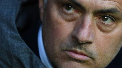(FILES) This file photo taken on May 24, 2017 at the Friends Arena in Solna outside Stockholm shows Manchester United's Portuguese manager Jose Mourinho  prior the UEFA Europa League final football match Ajax Amsterdam v Manchester United. Mourinho is accused of tax evasion in Spain, AFP reports on June 20, 2017. / AFP PHOTO / Paul ELLIS