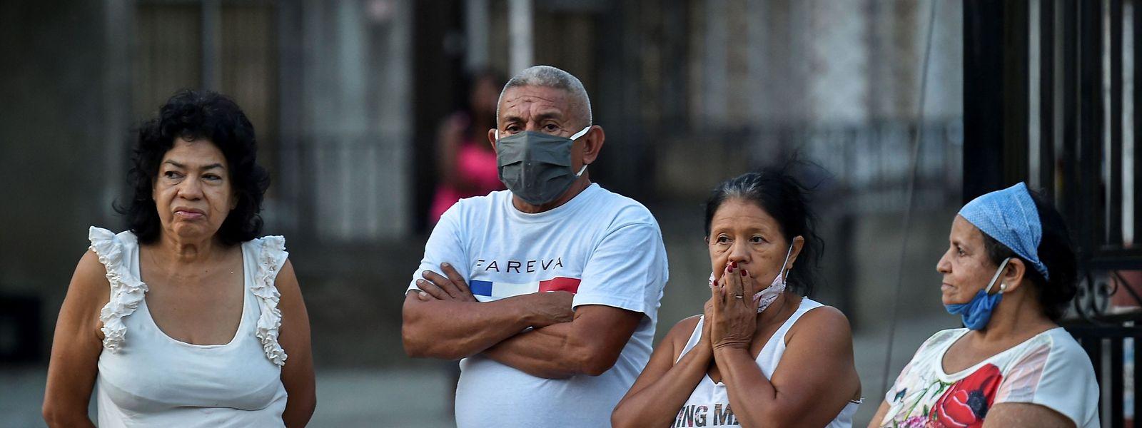 Une augmentation des contaminations est constatée au Mexique, au Pérou, en Colombie et en Argentine, des pays qui tentent de relancer leur activité économique.