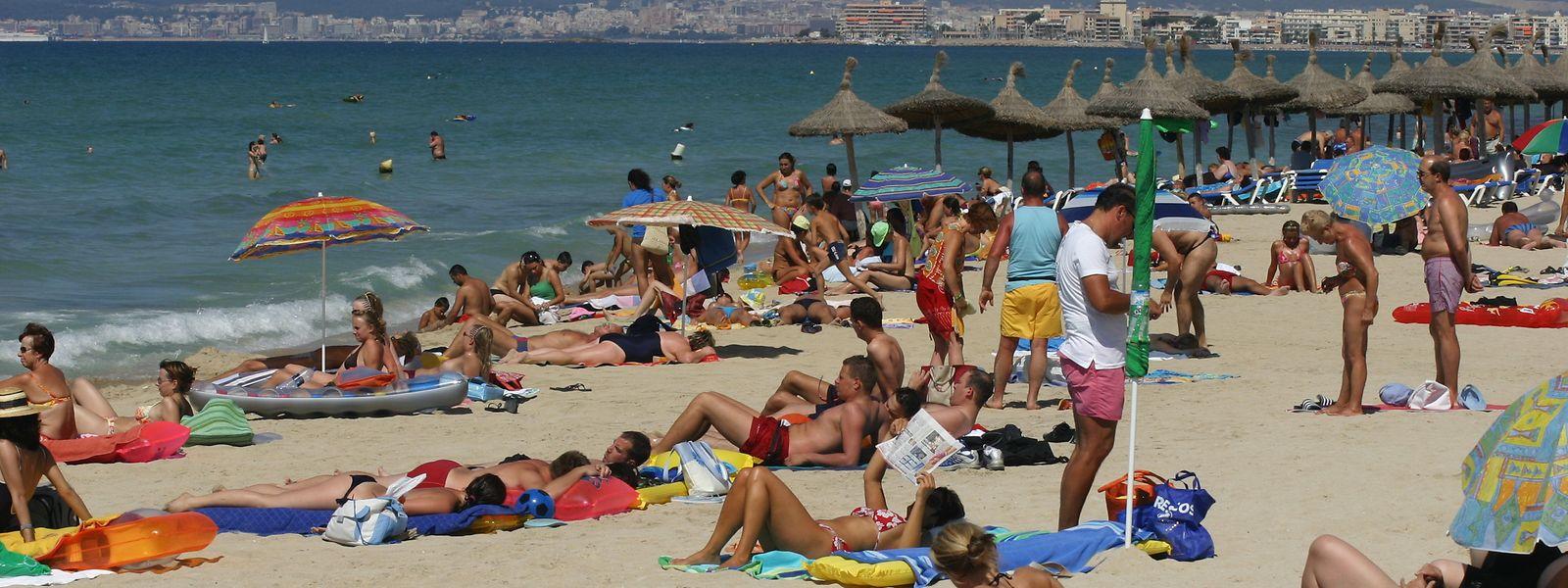 Die Playa de Palma ist ein beliebter Touristenort.