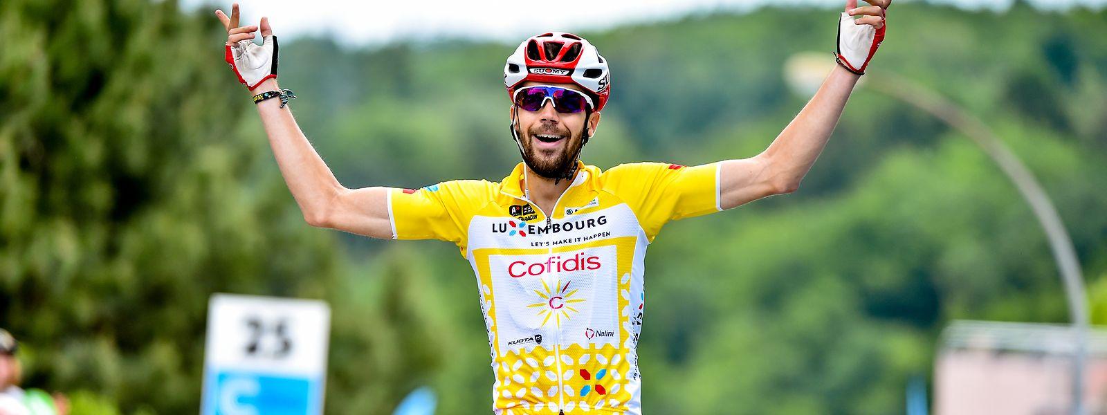 Jesus Herrada kann seinen Titel nicht verteidigen. Er bestreitet derzeit die Tour de France.