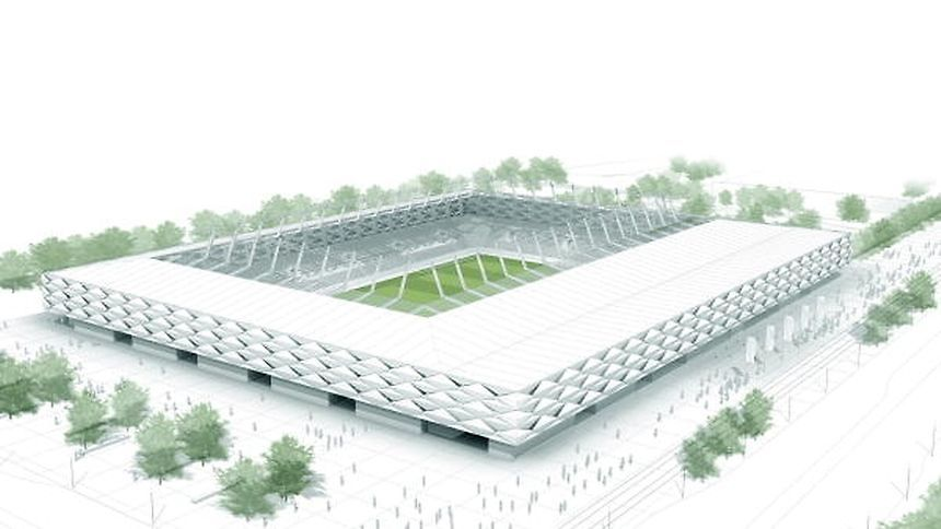 The national stadium in Kockelsheuer: could the future site host the U19s?