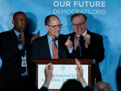 Perez setzte sich bei der Abstimmung in Atlanta (Georgia) im zweiten Durchgang gegen den muslimischen Kongressabgeordneten Keith Ellison durch.