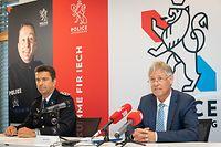 IPO , PK Police , vlnr  Philippe Schrantz ,  Henri Kox , Foto:Guy Jallay/Luxemburger Wort
