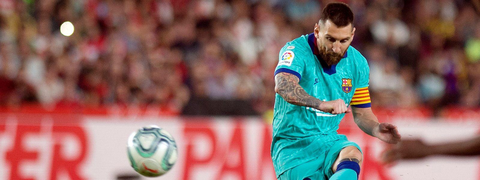 Lionel Messi und seine Teamkollegen müssen auf einen neuen Termin warten.