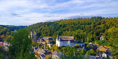 Originally a Celtic settlement or a Roman fort - historians are divided on Clervaux. Photo: Shutterstock