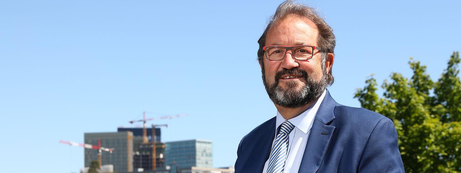 Gast Gibéryen will für die ADR erstmals einen Sitz in Straßburg erringen.