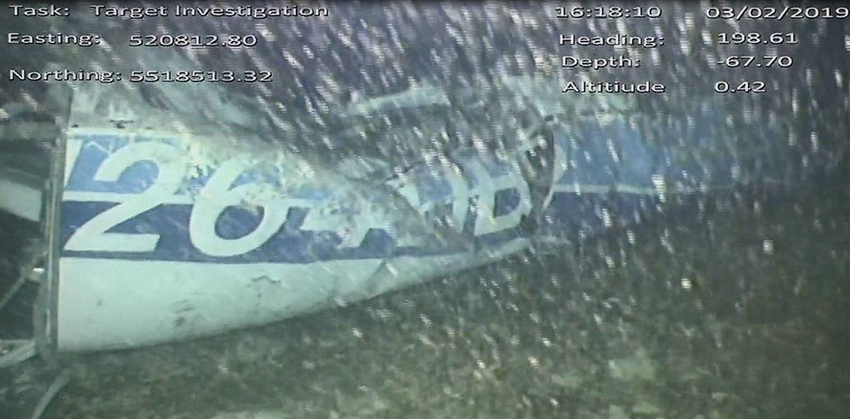 Das Wrack liegt in 67 Meter Tiefe im Ärmelkanal.