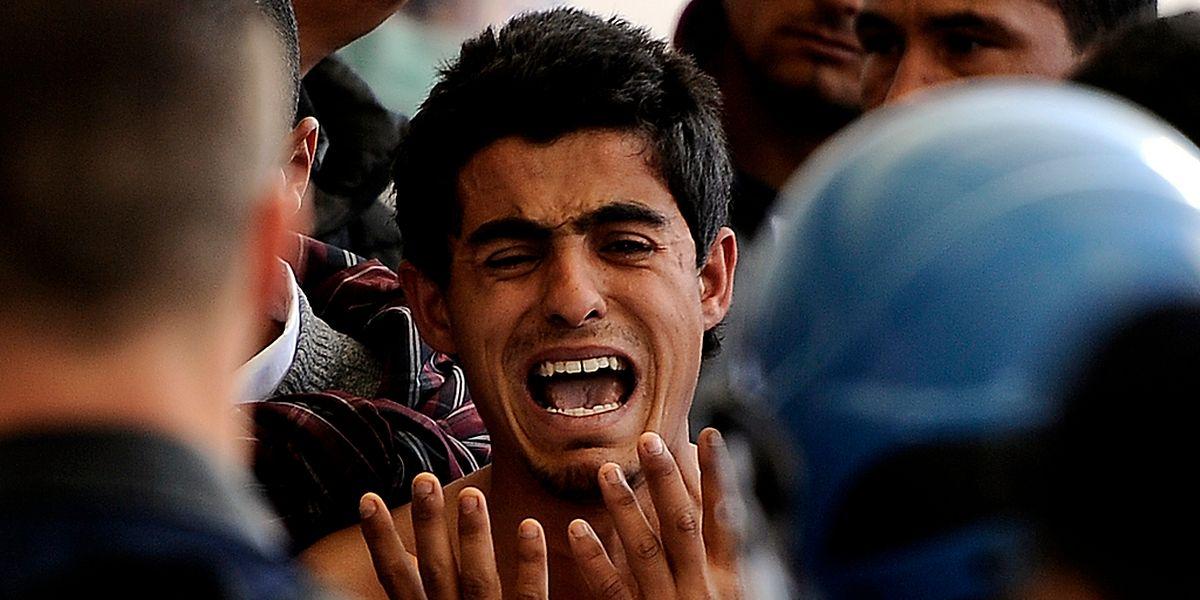 Auf der Flucht: Wer es als Flüchtling nach Europa schaffen will, der braucht Durchhaltevermögen, Geld - und Glück.