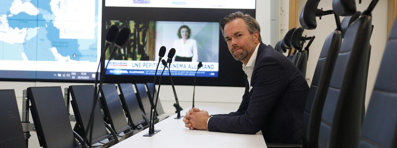 Luc Feller ist seit Ende Dezember 2016 Hoher Kommissar für die nationale Sicherheit.