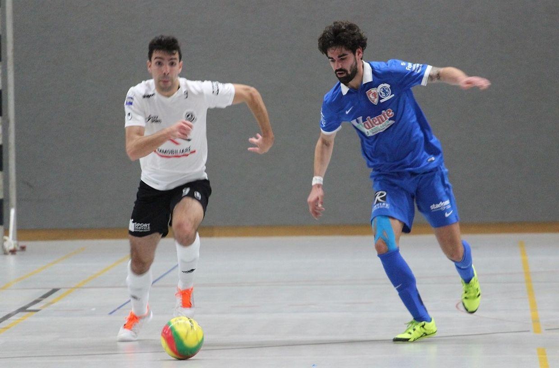 Um grande jogo de futsal entre duas das melhores equipas do campeonato que terminou com uma vitória justa do SC Bettembourg