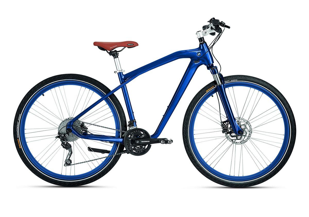 Autohersteller wie BMW kooperieren eng mit den Fahrradbauern für ihr zweirädriges Angebot.
