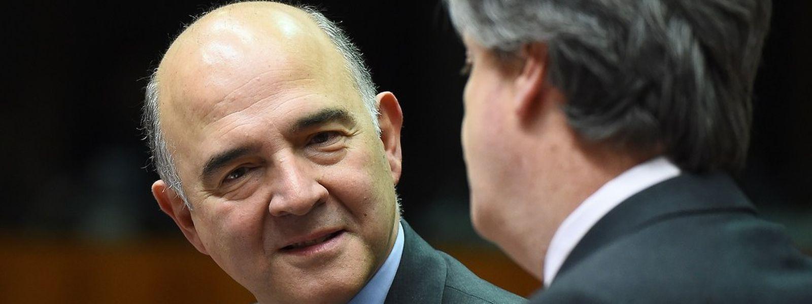 Pierre Moscovici,o comissário europeu para a Fiscalidade