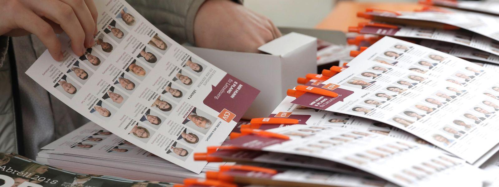 Incités par l'introduction de quotas, les partis ont fait l'effort de présenter plus de candidates: elles doivent maintenant se faire une place face aux hommes