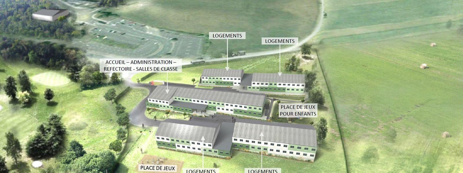 Das erste Containerdorf für Flüchtlinge soll im Oktober in Diekirch in Betrieb genommen werden.